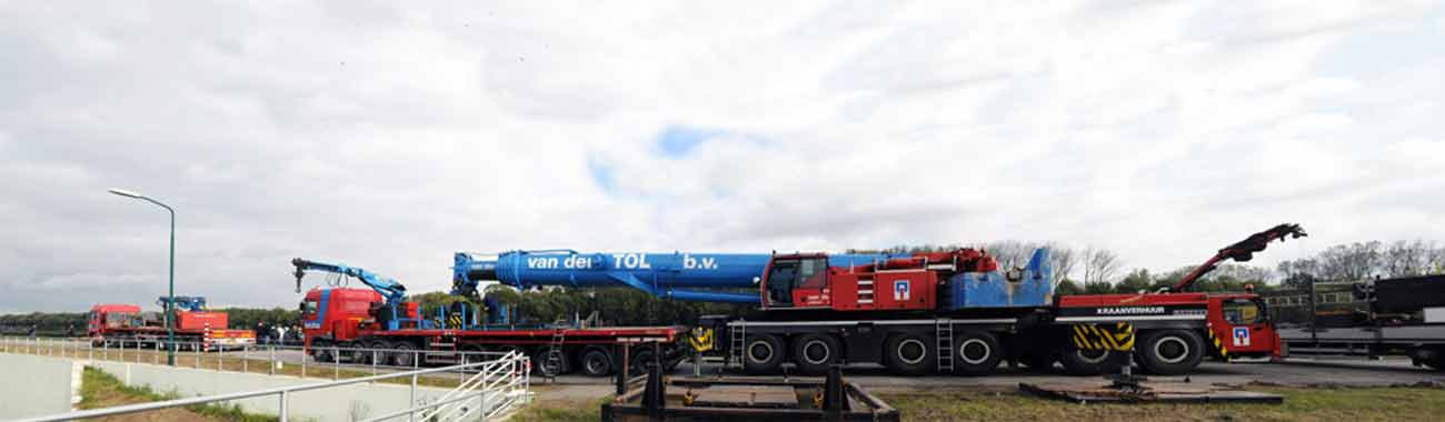 Van der Tol Exceptioneel Transport